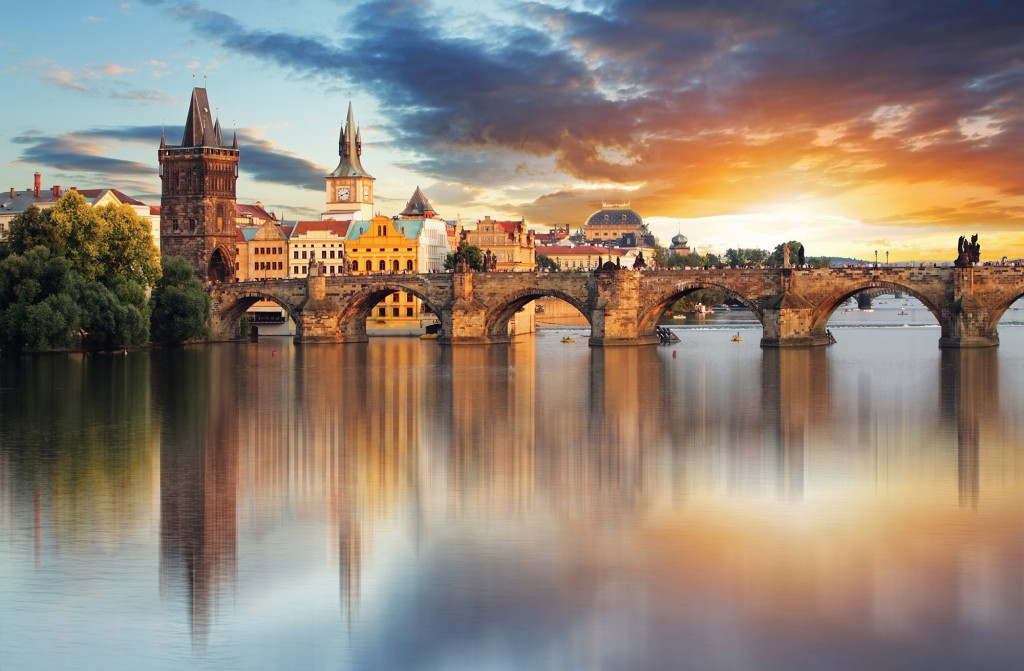 Prague Charles Bridge, Czech Republic