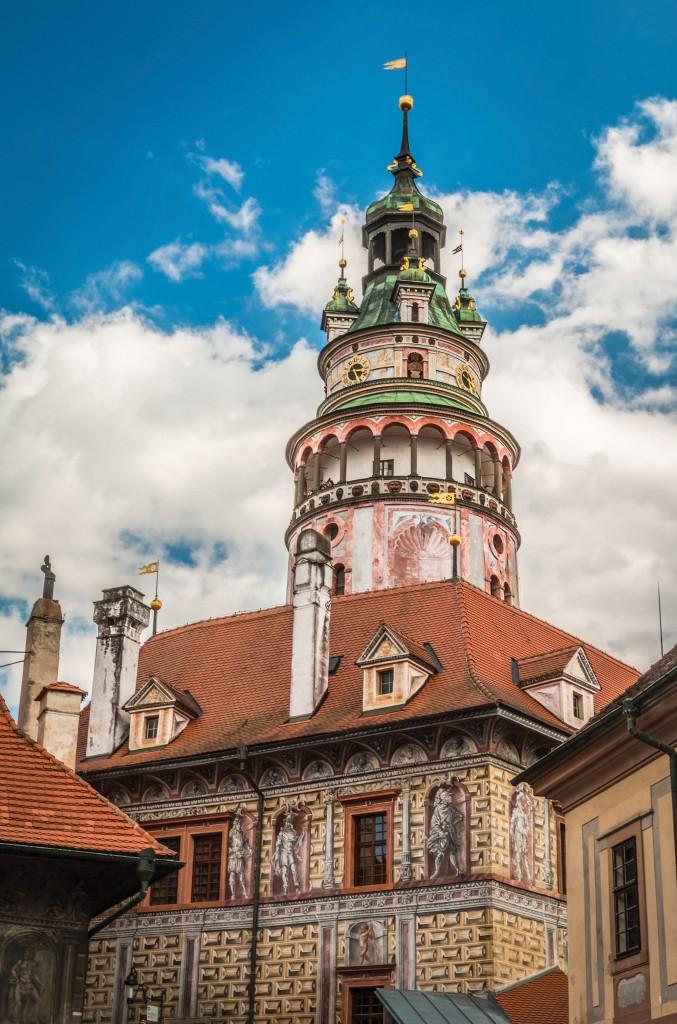 Český Krumlov Tower