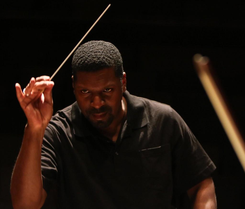 Amadi Conducting At Jmu