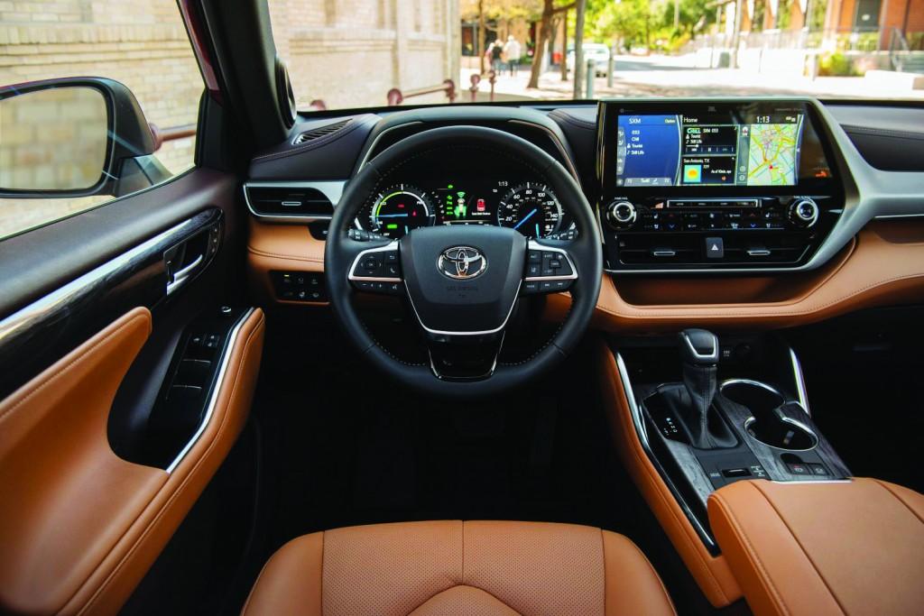 2021 Toyota Highlander Platinum Hybrid Awd Ruby Flare Pearl 021 Cc